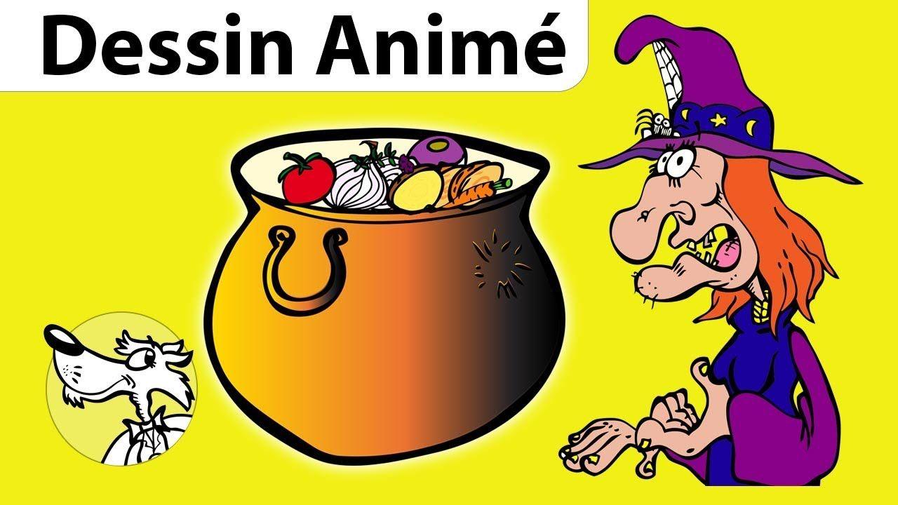 La Soupe à la Sorcière Histoire Halloween pour enfants