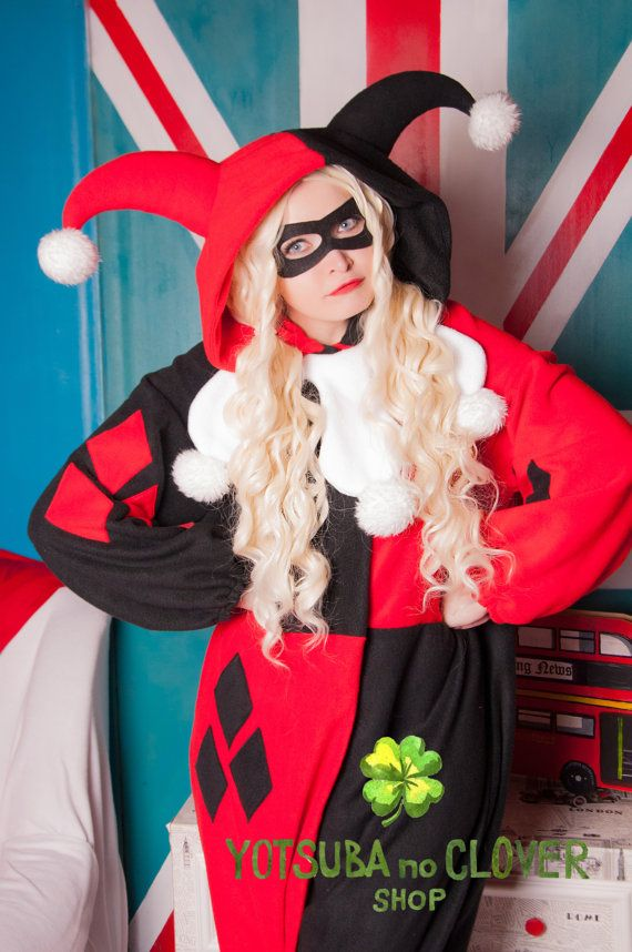 a326ce8dc514 Harley Quinn kigurumi. Mask is included by yotsubanoclover on Etsy