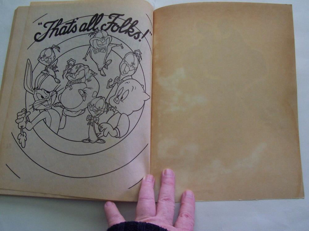 1996 Landoll S Space Jam Jumbo Jam Coloring Activity Book Unused Ebay Color Activities Book Activities Pop Up Book
