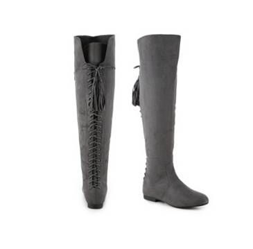 Over The Knee Boots,Tall & Thigh High Boots Women's Shoes flat Low ...