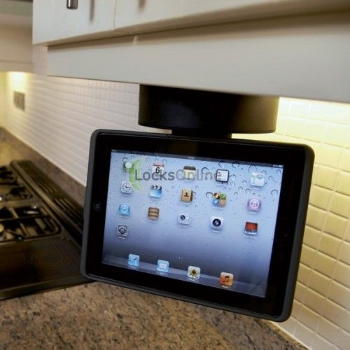 Buy Kitchen Cabinet iPad Mount, MFi (Made For iPad) (With ...
