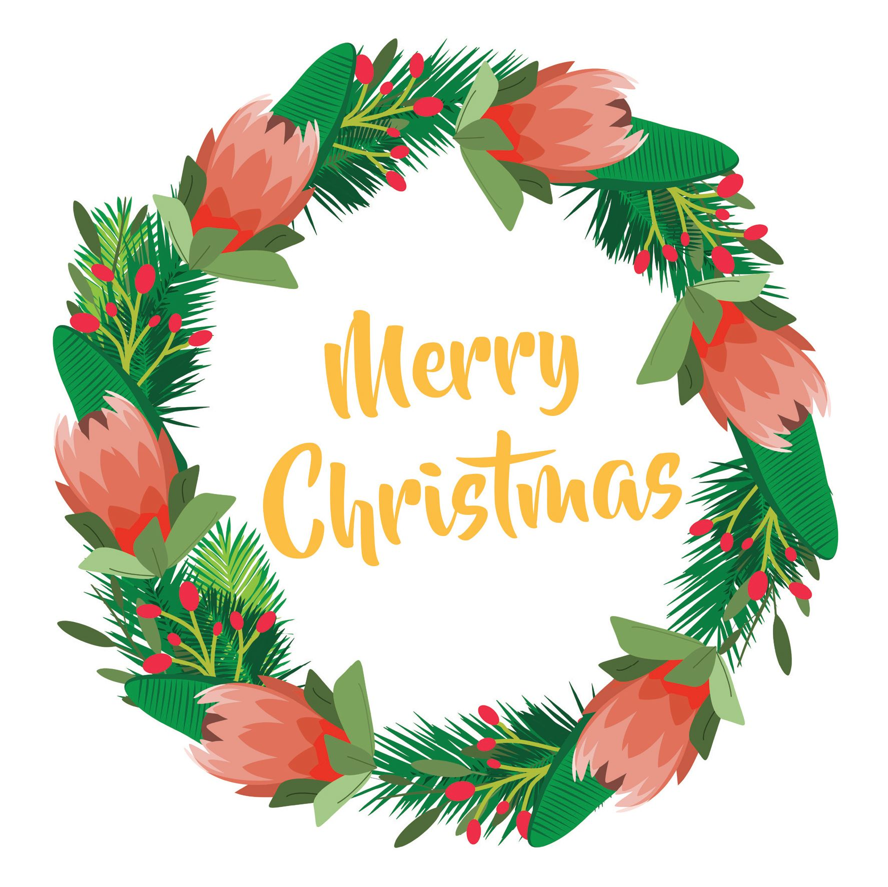 Merry Christmas | South African Greeting Cards | Pinterest ...
