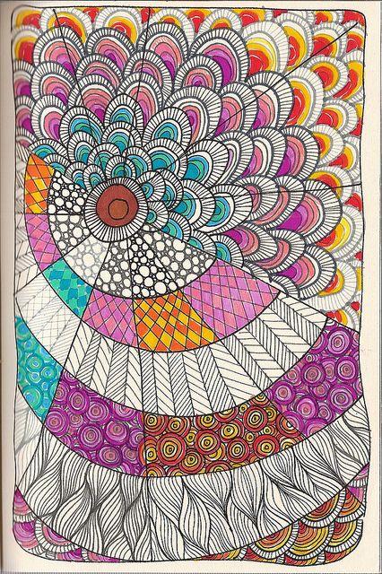Doodle 15 Muster Zeichnen Pinterest Malerei Zeichnen Und