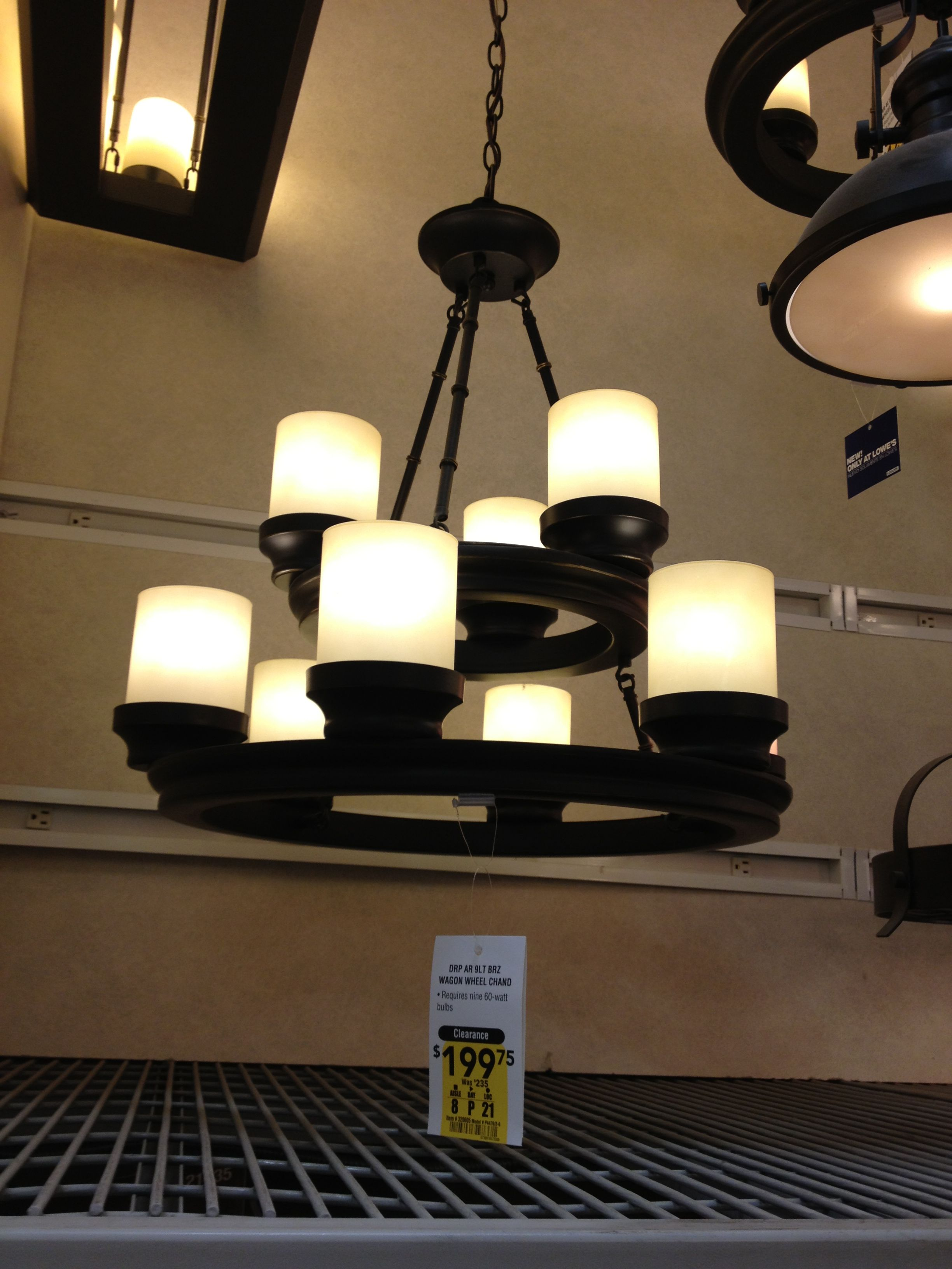 Rustic Candle Chandelier - Lowes