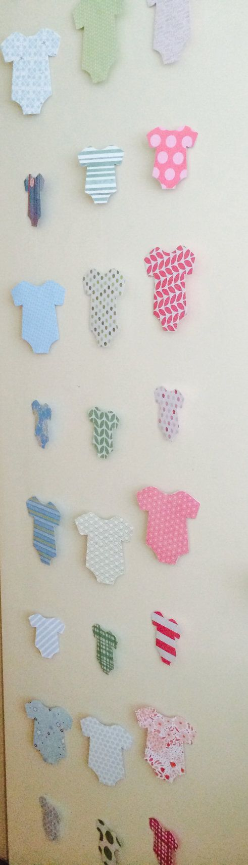 These garlands are super cute for a baby shower or welcome home baby ...