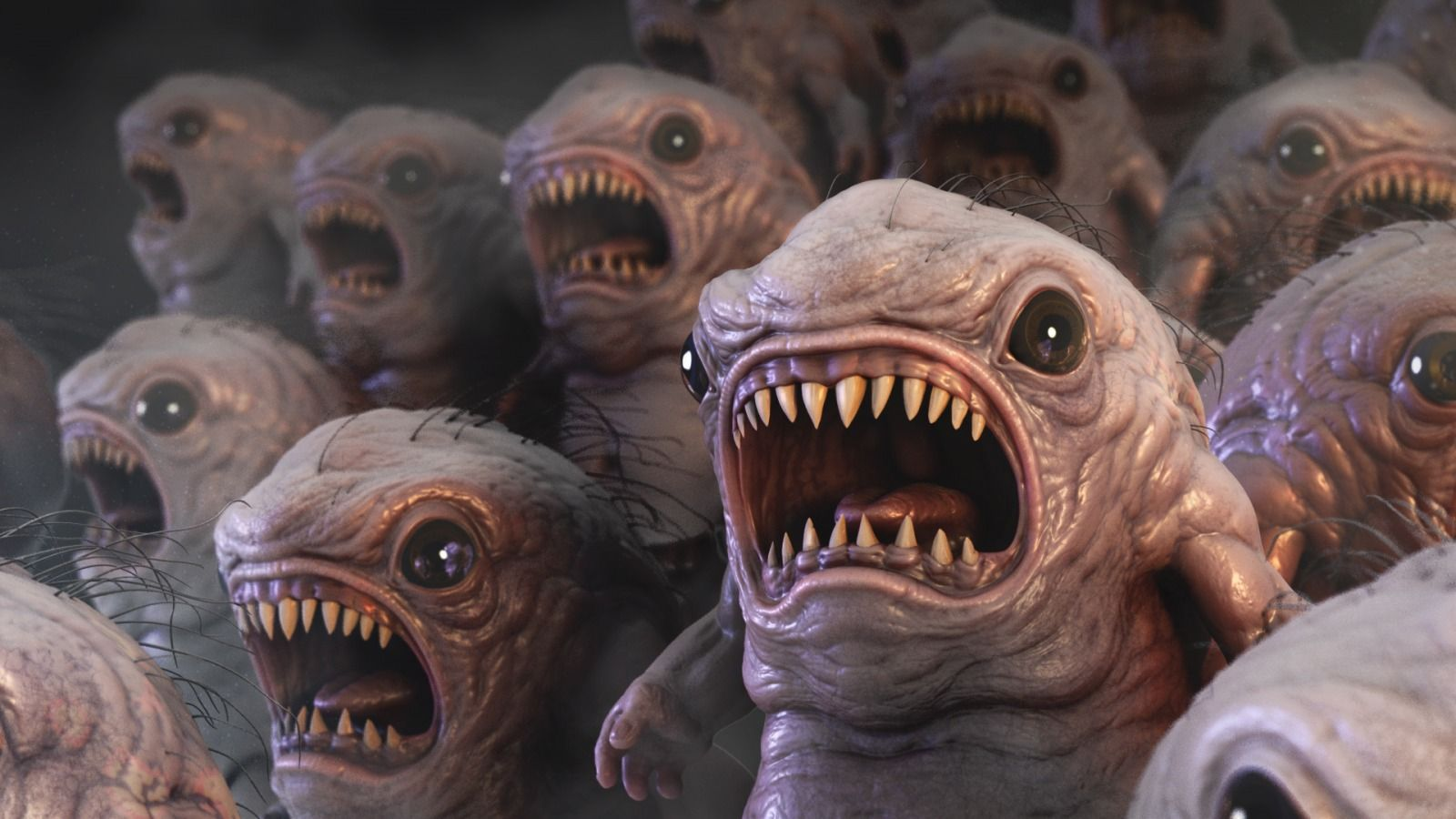 Critters by  Martin Elsaesser