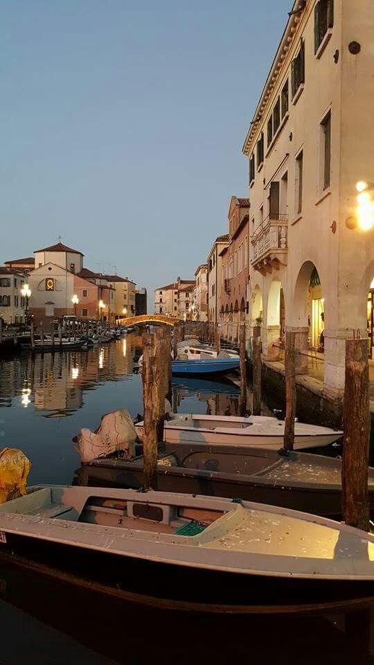 Canal vena Chioggia Venezia Chioggia Venezia Veneto in