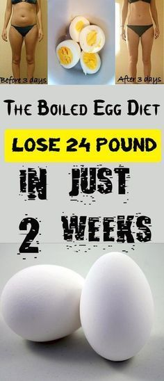 Boiled Egg Diet – Lose 24 Pounds in Just 14 Days! (2 Weeks