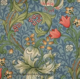 tyget Golden Lily från William Morris® (FM10103