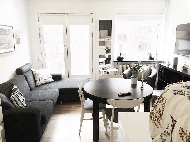 5 Smart Studio Apartment Layouts That Work Wonders For One Room Living Livingroom Layout Living Room Furniture Layout Furniture Placement Living Room
