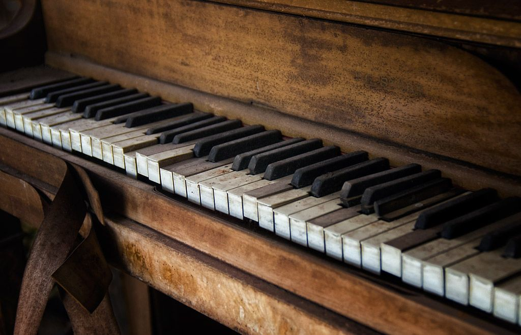 Old Piano | Old Piano - Bwana Disco - Karnack, Texas | music ...