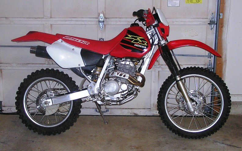 honda xr250r image 4 honda xr 250 honda motorcycle. Black Bedroom Furniture Sets. Home Design Ideas