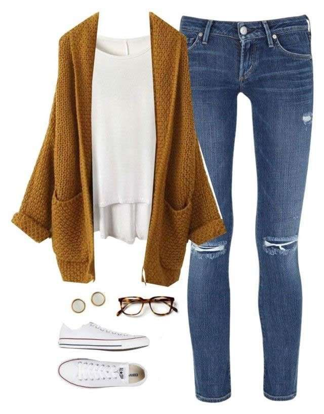 Consigli di stile - Cardigan e skinny jeans  a890593716b