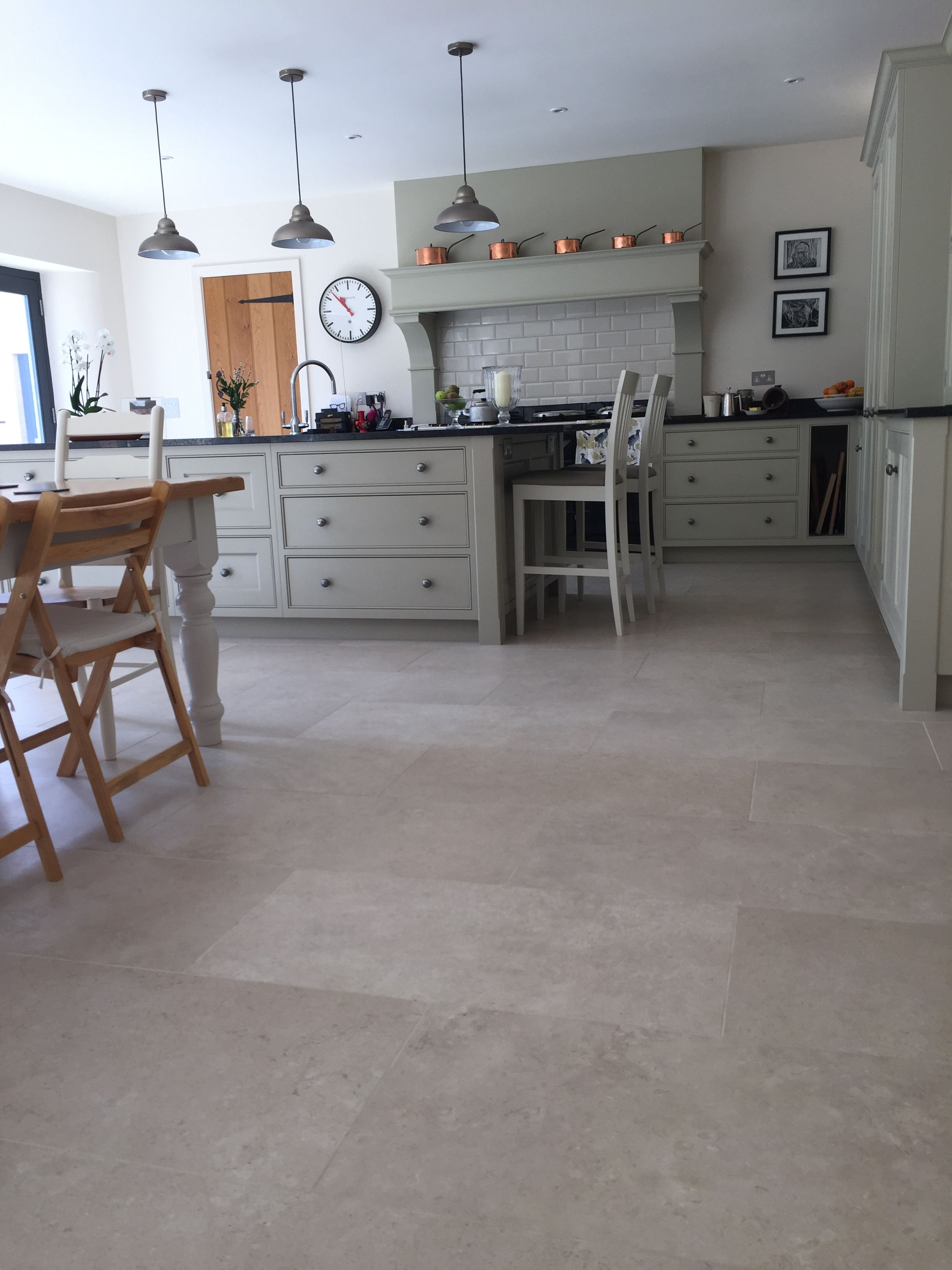 Heritage Stone Porcelain Tile 45x90cm Arguably The Best Limestone Look Porcelain A Porcelain Tile Floor Kitchen Tile Floor Living Room Family Room Remodel