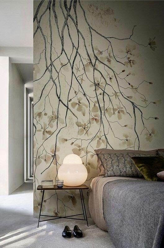 Pin Von Francesca Toja Auf My Bedroom Is A Forest | Pinterest |  Wandgestaltung, Wandbemalung Und Wände