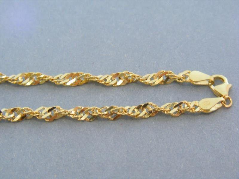 6354fec29 Zlatá retiazka žlté zlato točený vzor | Náhrdelníky,retiazky | Zlato ...