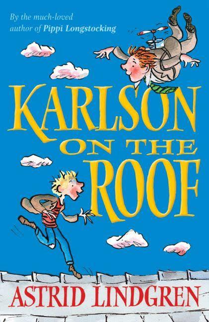 B W Astrid Lindgren Karlsson On The Roof 1955