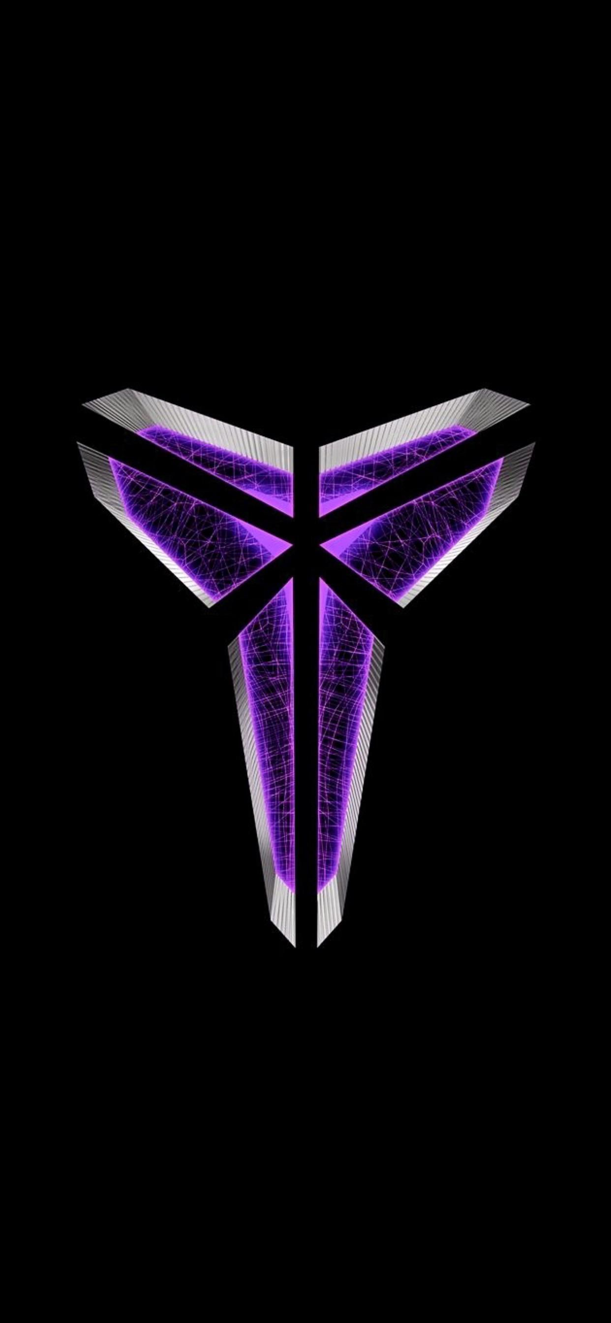 In memory of Kobe heres a purple Mamba logo in 2020 Kobe