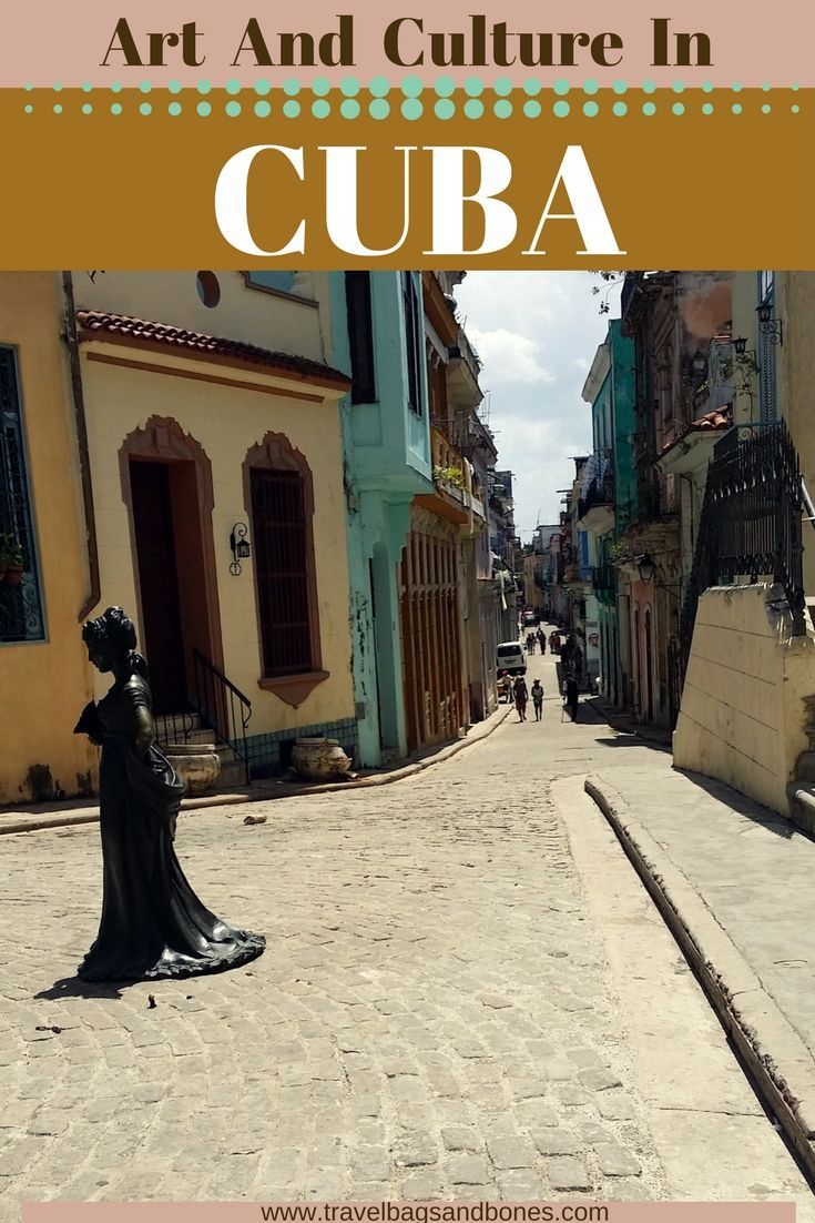 Art is everywhere in Cuba! #Cuba #visitCuba #travelcuba #cubavacation