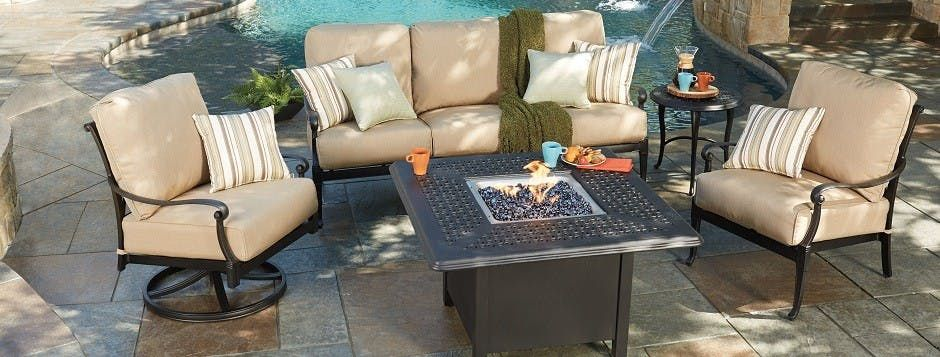 Shop Fire Pits At Zing Casual Living Outdoor Furniture For An Amazing Choice And The Best Costs In The Naple Outdoor Furniture Sets Furniture Outdoor Furniture