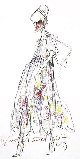 Wolfgang Joop #fashion_illustration