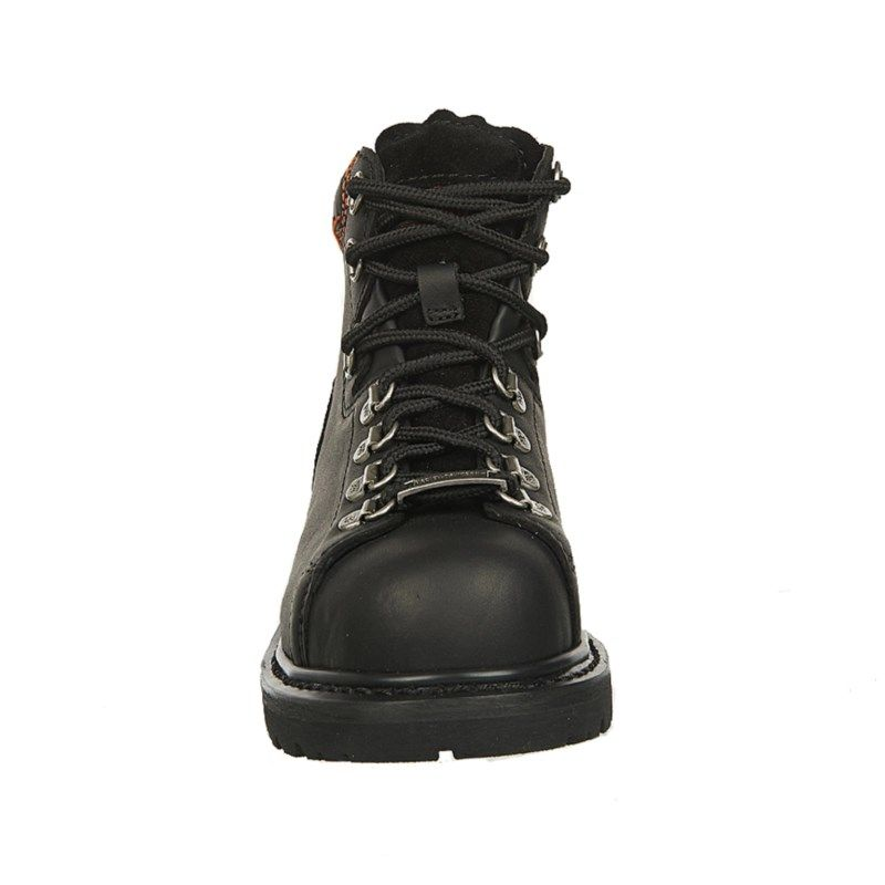 884e6694ca5e Harley Davidson Women s Gabby Steel Toe Work Boots (Black Leather ...