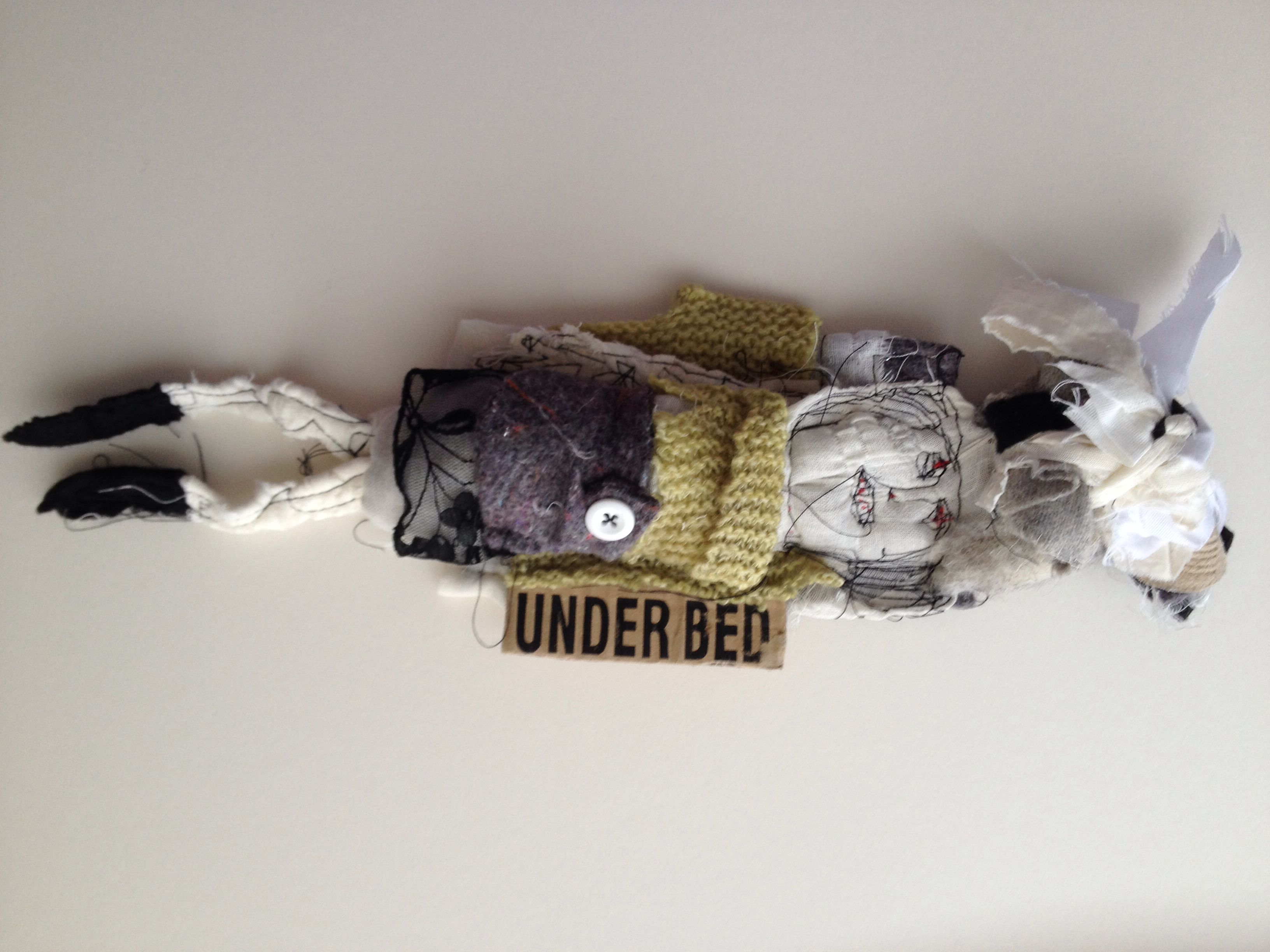 Art doll 'Under the Bed'