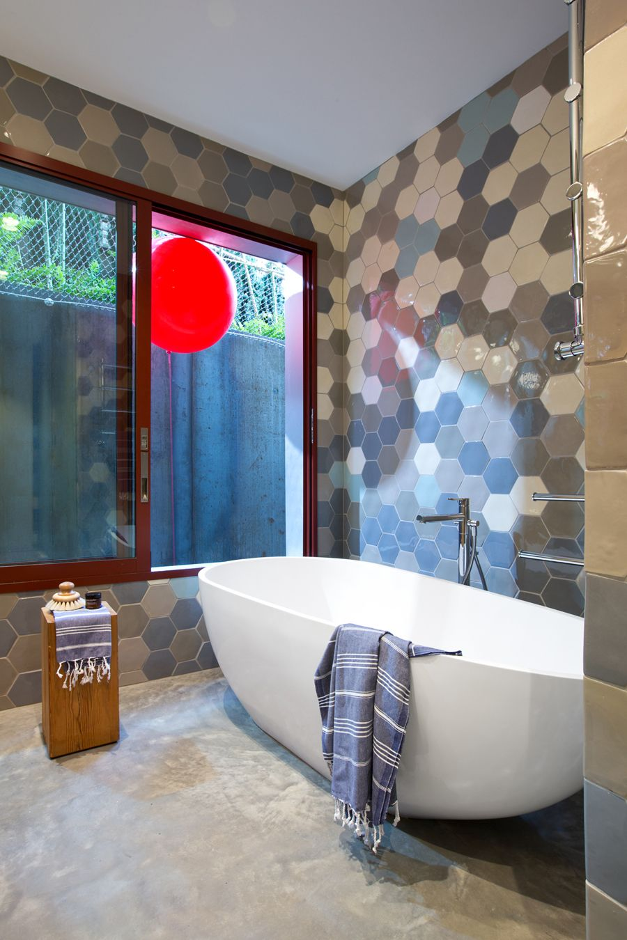 Hex Tiles By Dearhuman Hand Made Ceramic Tiles Made In Canada