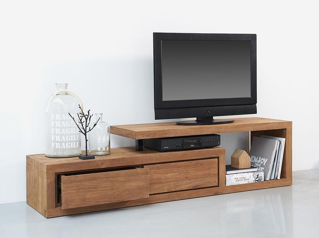 simple wooden tv stand designs