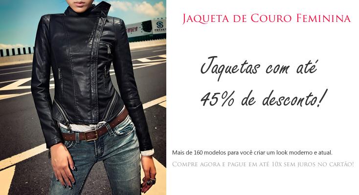 Jaquetas Femininas com até 45% de Desconto! Peças a partir de R$148,00. Aproveite e faça suas compras! http://www.camisariarg.com/catalogo-feminino/jaqueta-feminina.html