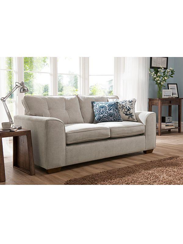 Cleveland Medium Sofa In Silver