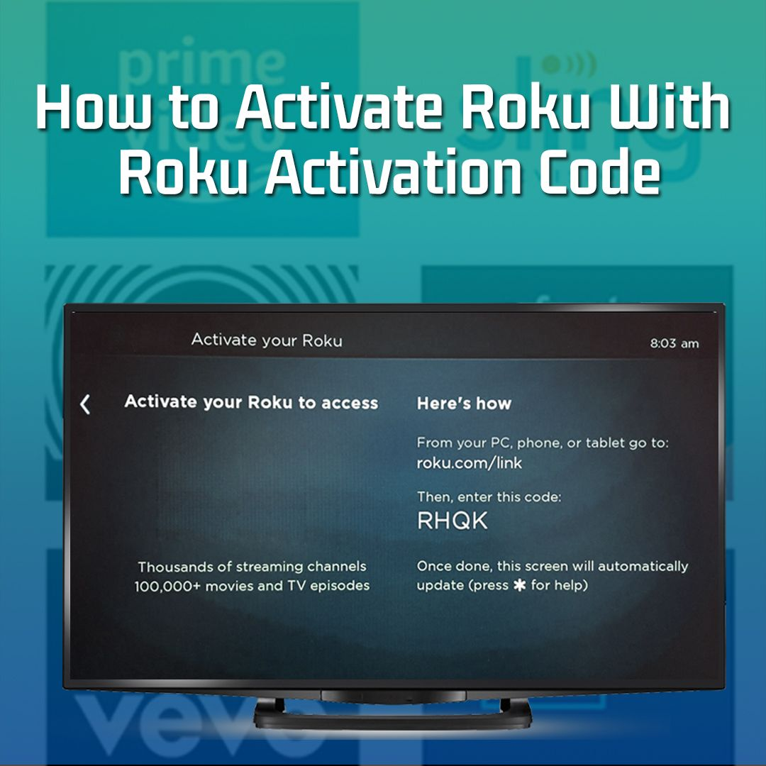 Own a Roku…? Then having a #Rokuactivationcode is essential