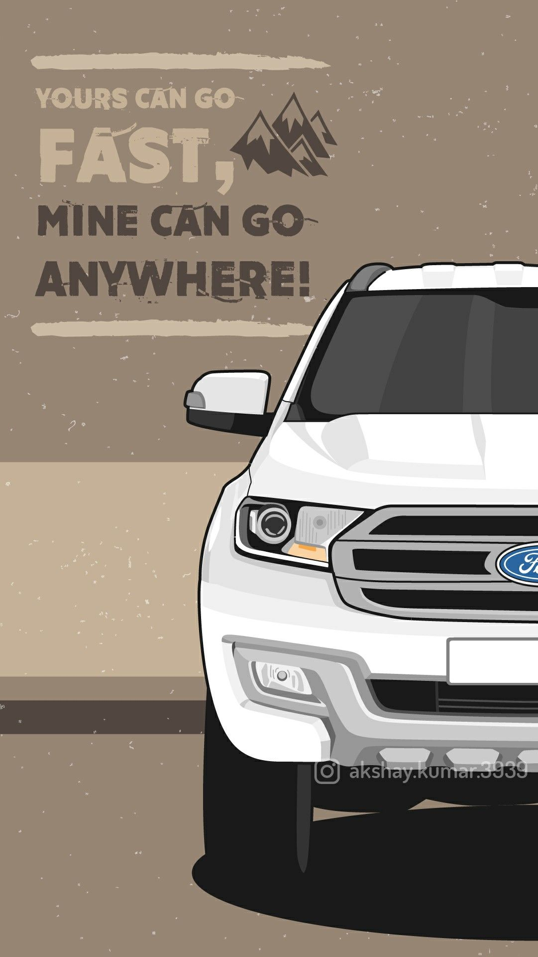 Ford Endeavour Wallpaper Offroad 4x4 Ford Endeavour Endeavor Car Car Vector