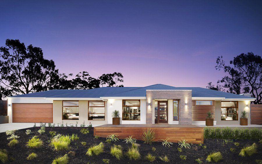 Corner Block House Designs In Victoria With Metricon In 2019