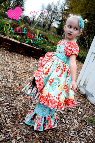 Shasta's Skirt Wrap and Apron Set | YouCanMakeThis.com