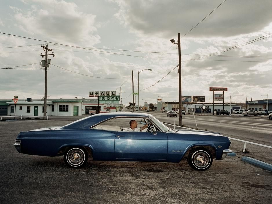 © Christopher Anderson, A young in his car. USA, midland ...
