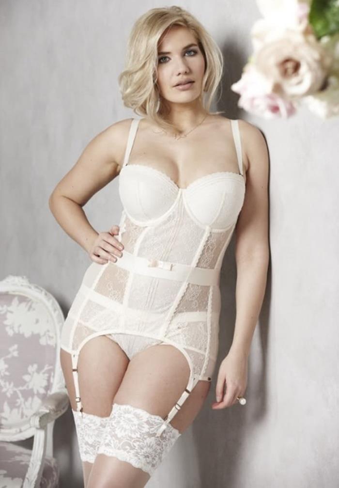 Plus lingerie bridal Sexy size