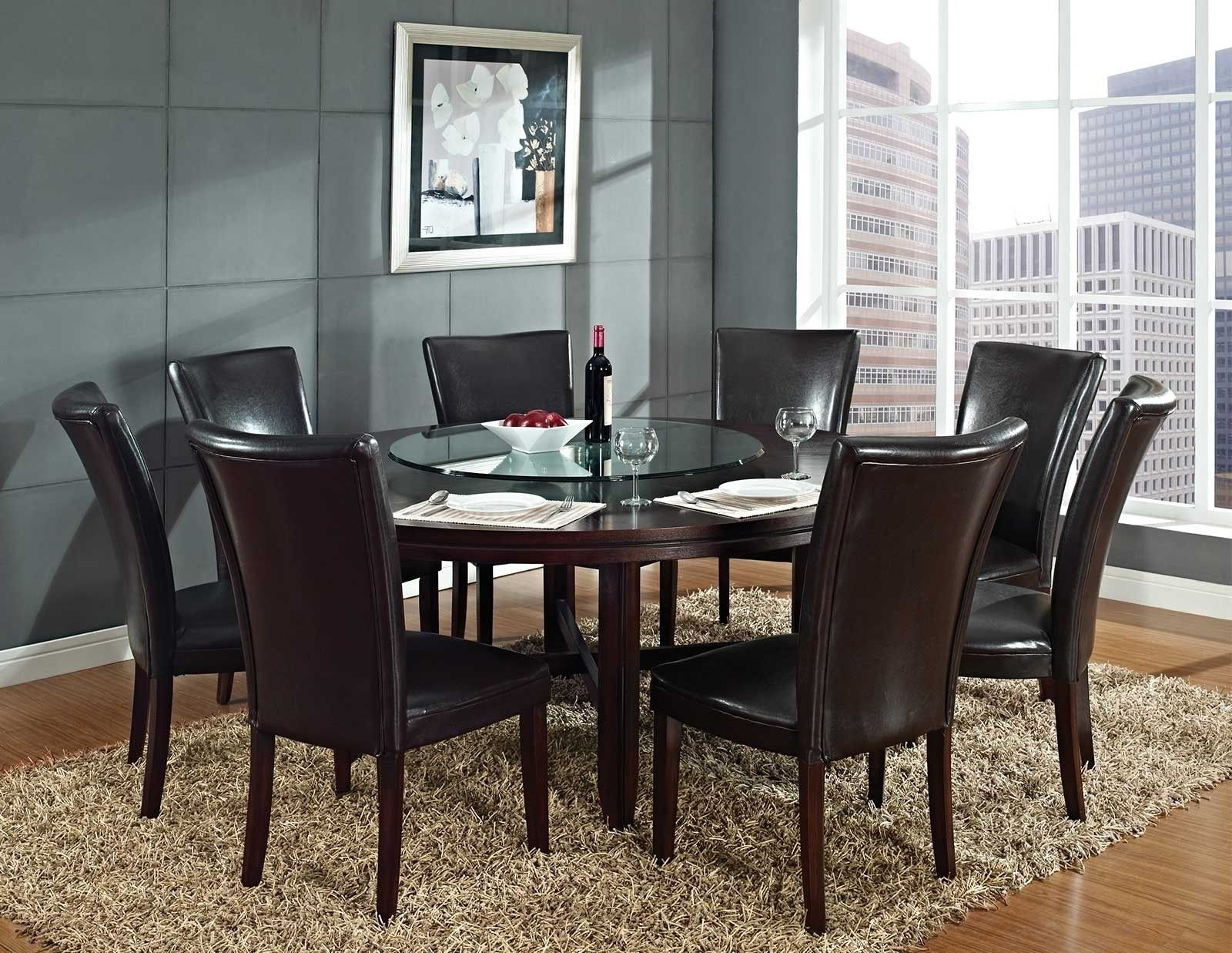 Round Dining Tables Seat 8  Httpargharts  Pinterest Custom Round Dining Room Table Seats 8 Design Ideas