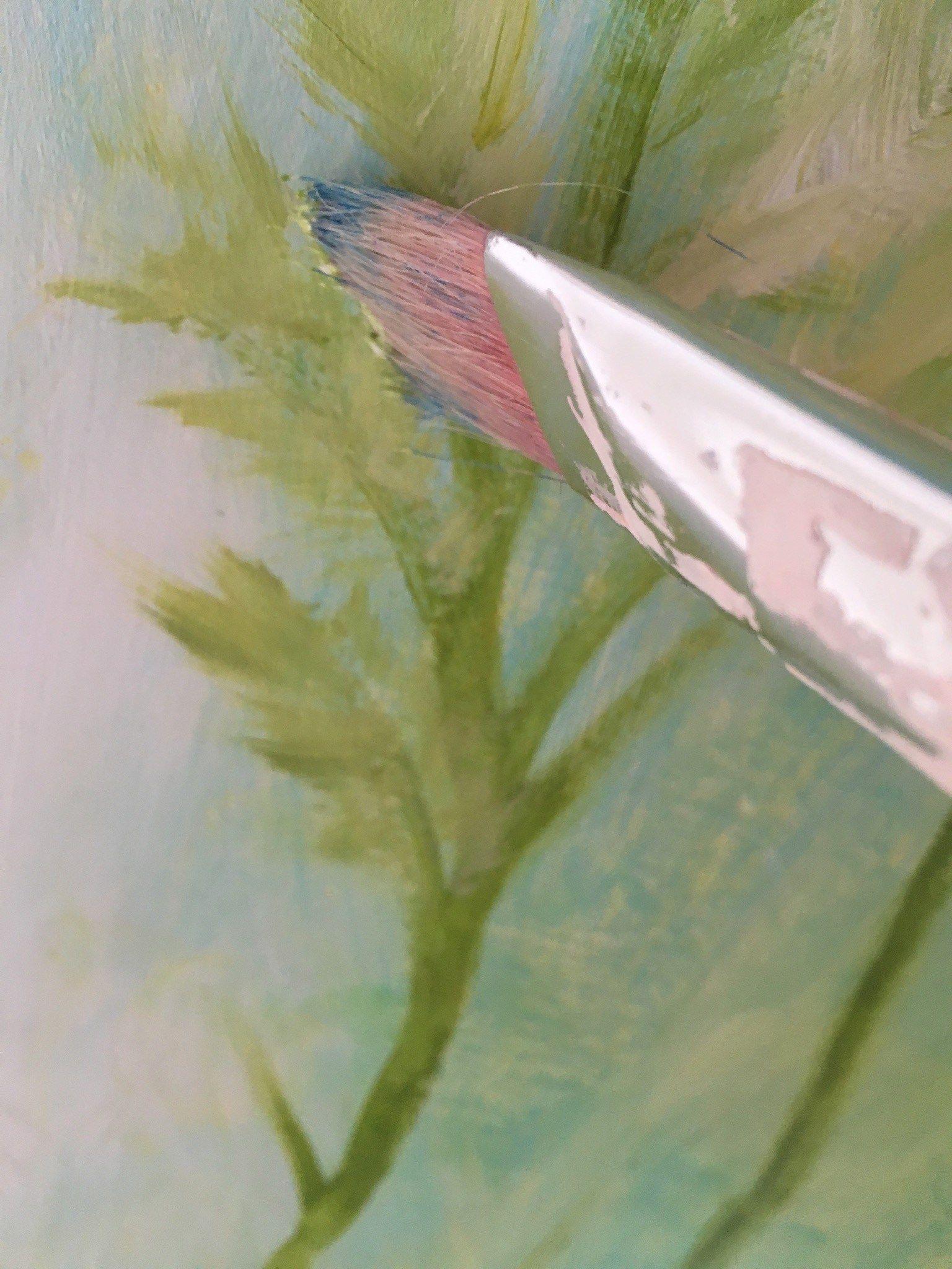Blumen Malen Mit Acrylfarben In 8 Einfachen Schritten Malen