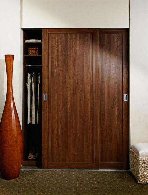sliding wood doors closet - Recherche Google | bedroom | Pinterest ...