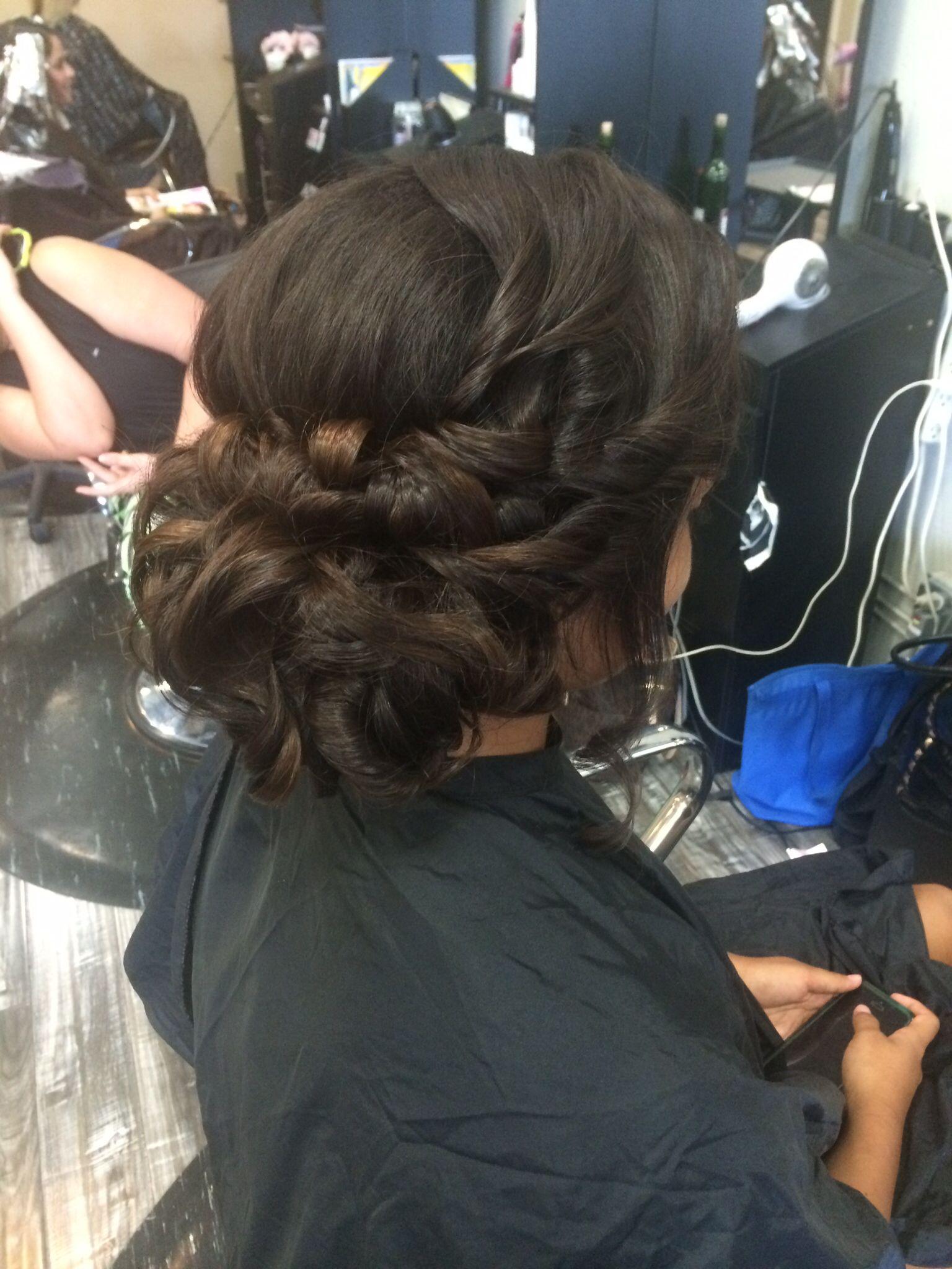 Updo, Hair by Jayleen, Hot Seat Salon, San Diego salon, San Diego hairstylist, bridal, texture