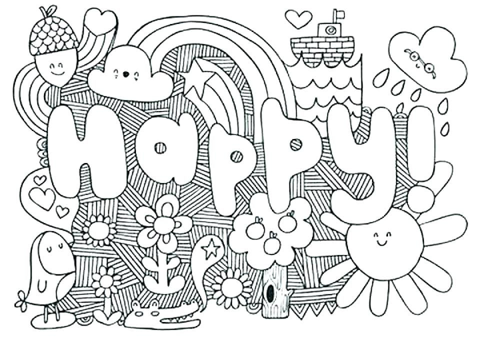 Cheerful Coloring Pages