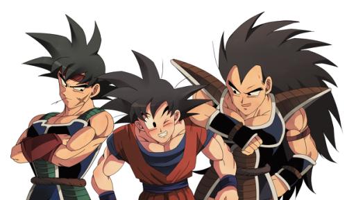 Image Result For Goku And Raditz Brothers Dragones Personajes De Dragon Ball Dragon Ball Z
