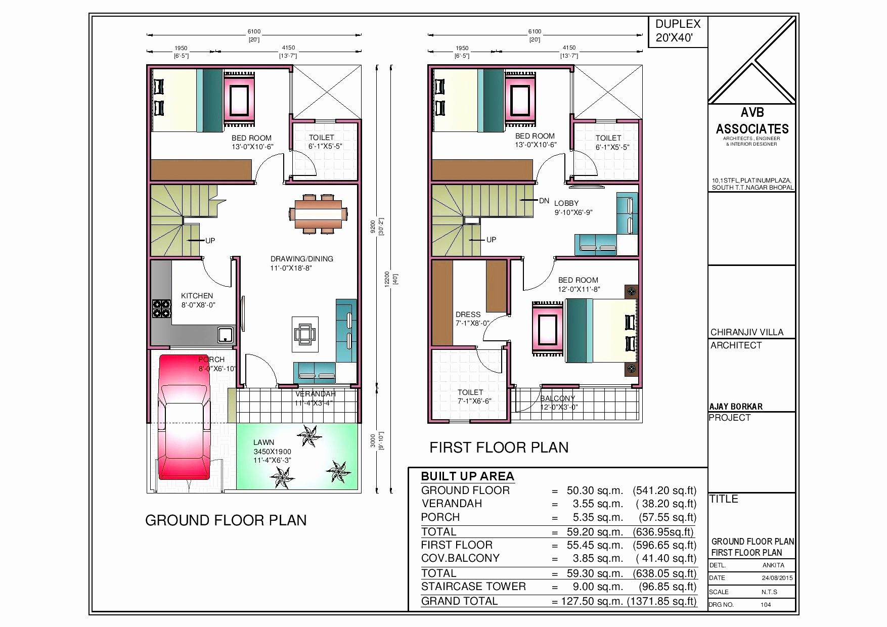 1200 Sq Ft House Plans Inspirational 600 Sq Ft Duplex House Plans 500 Square Feet House Plans 600 Sq Ft 20x40 House Plans 2bhk House Plan 30x40 House Plans