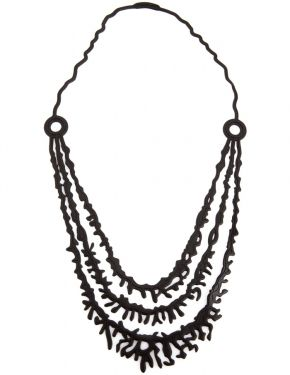 3 STRAND CORAL NECKLACE | http://melko.com.au/product/3-strand-coral-necklace