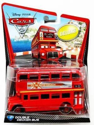 Disney Pixar Deluxe Cars 2 Double Decker Bus #4   Disney ...