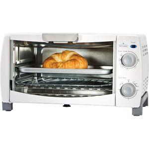 Rival 4 Slice Toaster Oven White Toaster Oven White Toaster Toaster
