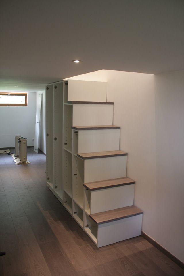 Livraison Et Montage Des Caissons Meuble Escalier Meuble Sous Escalier Meuble