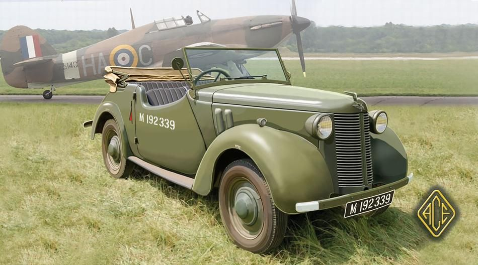 British Staff Car Tourer 8HP Car, Military vehicles, British