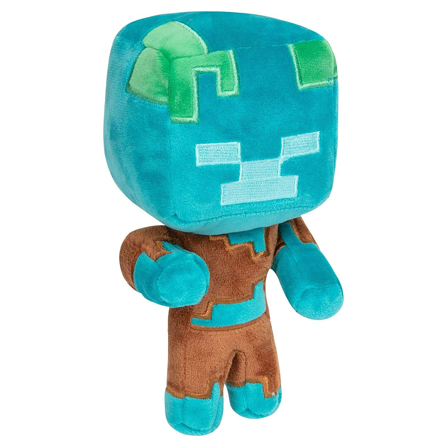Minecraft 7 Happy Explorer Drowned Plush Toy